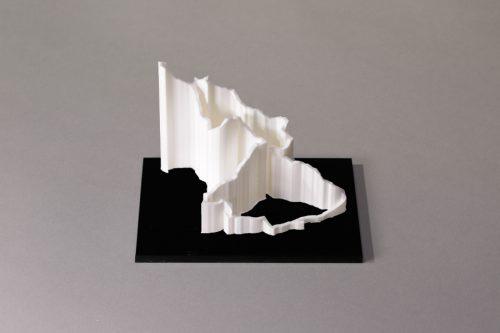 parcours 3D la 6000D blanc noir