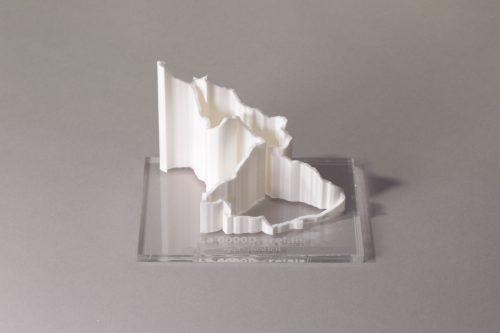 parcours 3D la 6000D blanc transparent