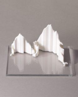 parcours 3D Marathon-Race Annecy blanc transparent