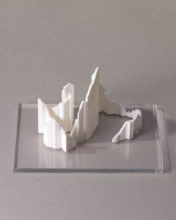 parcours 3D trail des passerelles de Monteynard blanc transparent