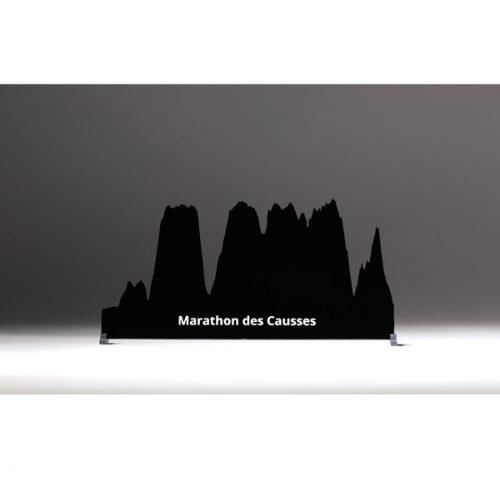 profil marathon des causses noir