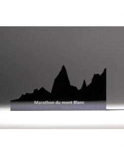 profil marathon du mont Blanc