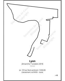 poster 10Km de Lyon