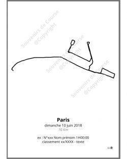 poster 10Km de Paris Adidas