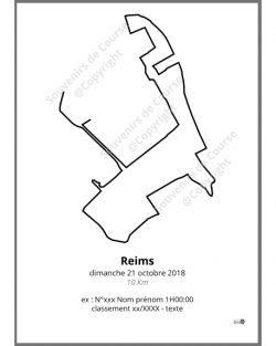 poster 10Km de Reims