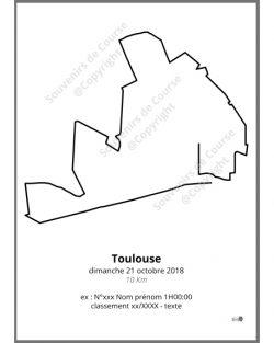 poster 10Km de Toulouse
