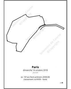 poster 20Km de Paris