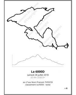poster la 6000D trail