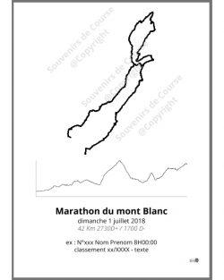 poster marathon du mont Blanc trail