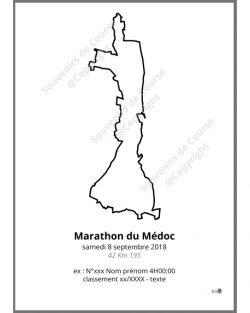 poster marathon du Médoc