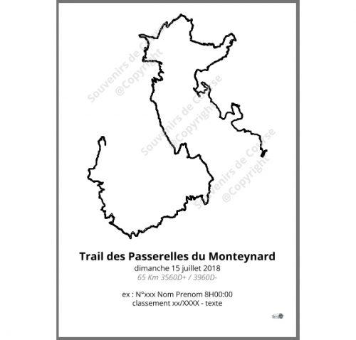 poster trail des passerelles du Monteynard