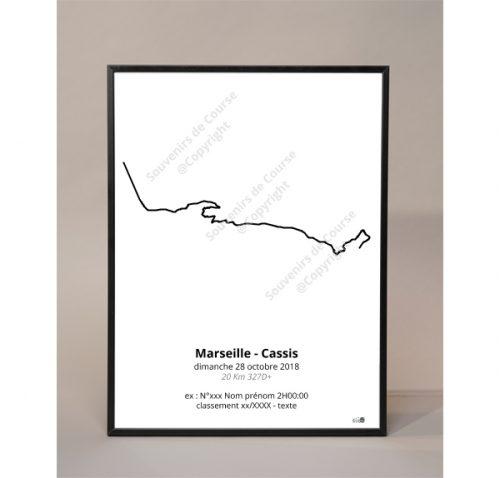 photo poster Marseilles-Cassis