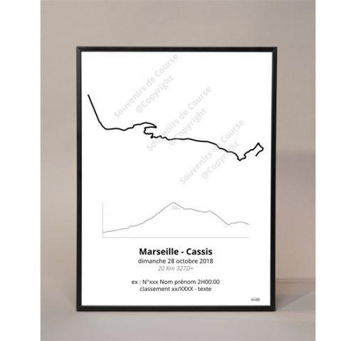 photo poster marseille cassis - profil