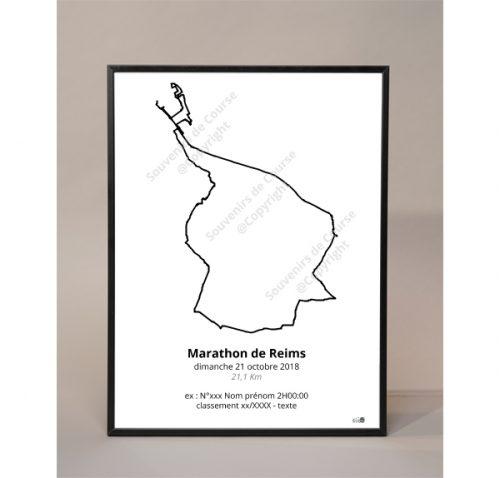 photo poster marathon de Reims