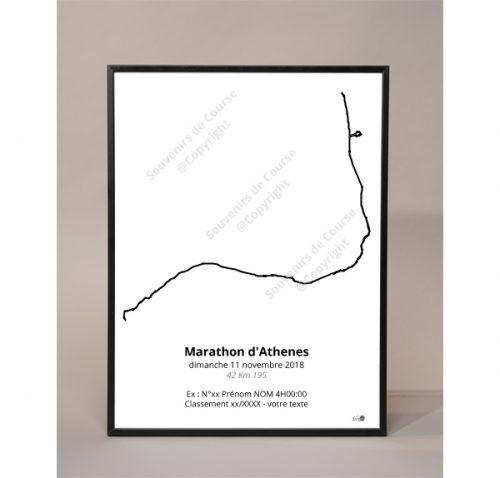 photo poster marathon d'Athenes