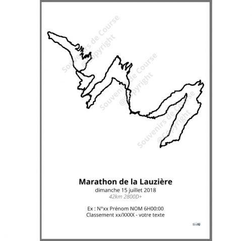 poster marathon de la lauziere