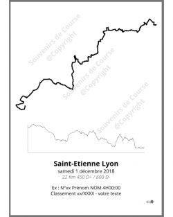 poster saintesprint- trail