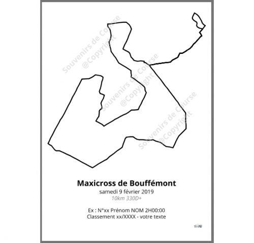 poster maxicross de bouffemont 10km