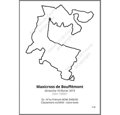 poster maxicross de bouffemont 25km