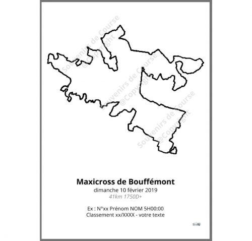 poster maxicross de bouffemont 41km