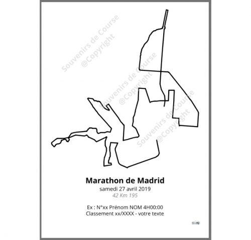 poster marathon de madrid