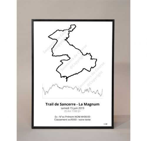 photo poster trail de sancerre la magnum - trail
