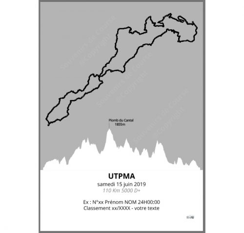 poster UTPMA - trail
