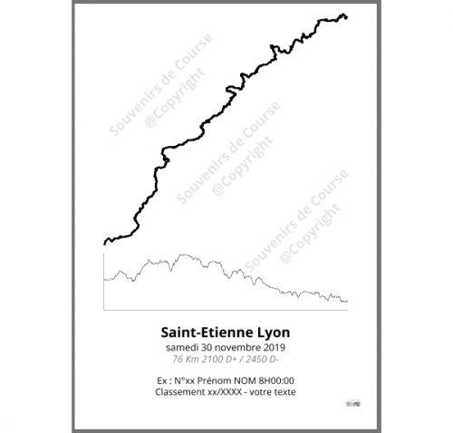 poster Saintélyon - trail